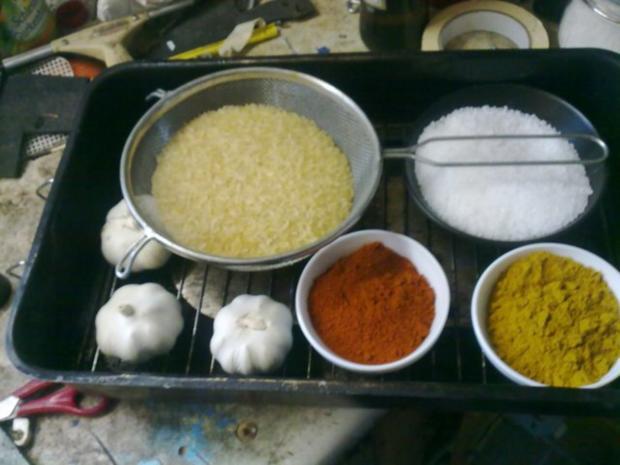 Räuchern von Zutaten und Gewürzen - Rezept