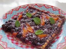 Heidelbeer-Aprikosen-Tarte - Rezept