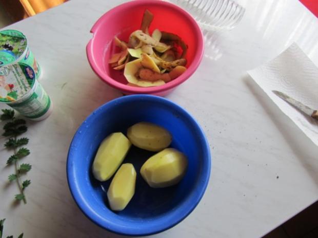 Zucchini Creme Suppe frisch aus dem Garten... - Rezept - Bild Nr. 5