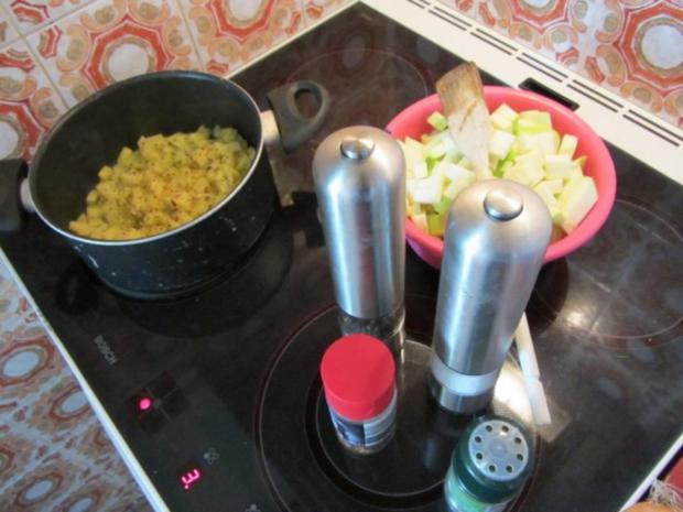 Zucchini Creme Suppe frisch aus dem Garten... - Rezept - Bild Nr. 8
