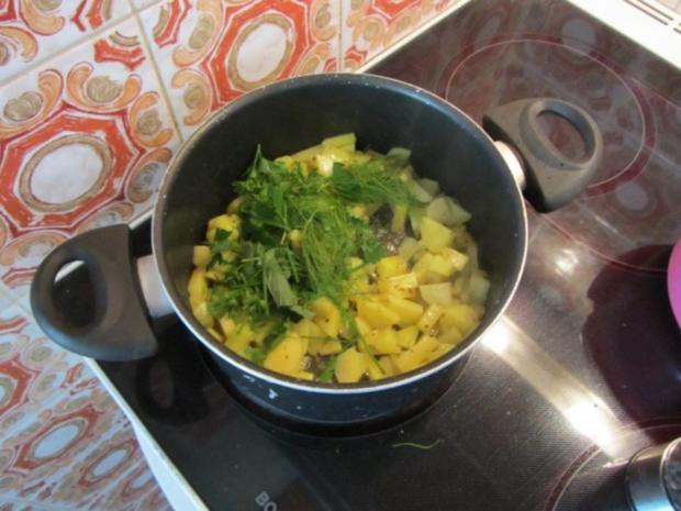 Zucchini Creme Suppe frisch aus dem Garten... - Rezept - Bild Nr. 9