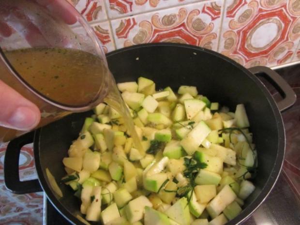 Zucchini Creme Suppe frisch aus dem Garten... - Rezept - Bild Nr. 11