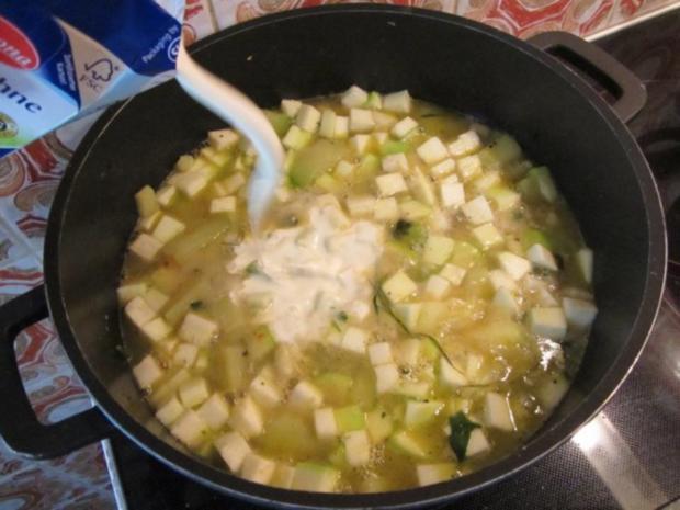 Zucchini Creme Suppe frisch aus dem Garten... - Rezept - Bild Nr. 12
