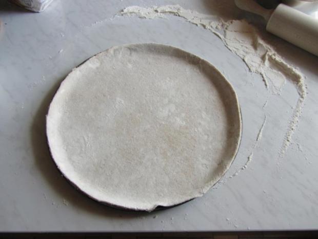 Flammkuchen selbst gemacht.--Im eigenen Pizza -ofen... - Rezept - Bild Nr. 20