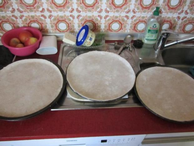 Flammkuchen selbst gemacht.--Im eigenen Pizza -ofen... - Rezept - Bild Nr. 22