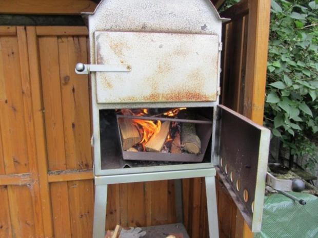 Flammkuchen selbst gemacht.--Im eigenen Pizza -ofen... - Rezept - Bild Nr. 5