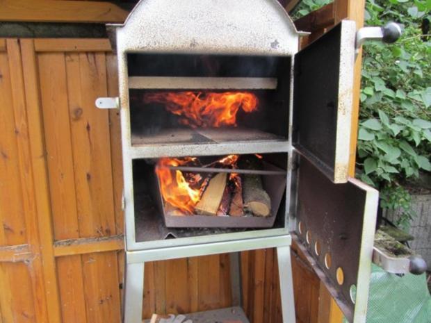 Flammkuchen selbst gemacht.--Im eigenen Pizza -ofen... - Rezept - Bild Nr. 6