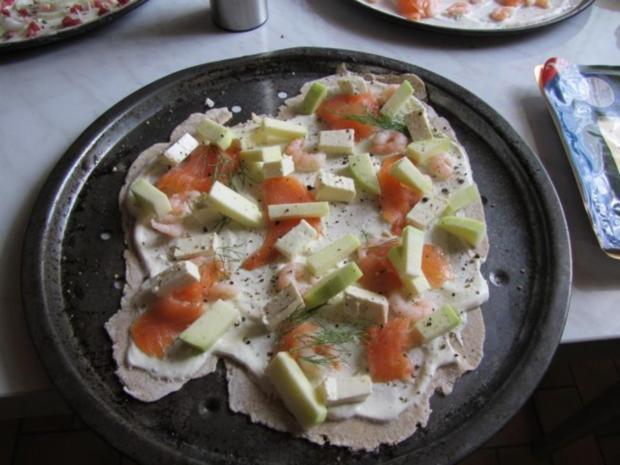 Flammkuchen selbst gemacht.--Im eigenen Pizza -ofen... - Rezept - Bild Nr. 25