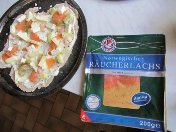 Flammkuchen selbst gemacht.--Im eigenen Pizza -ofen... - Rezept - Bild Nr. 26