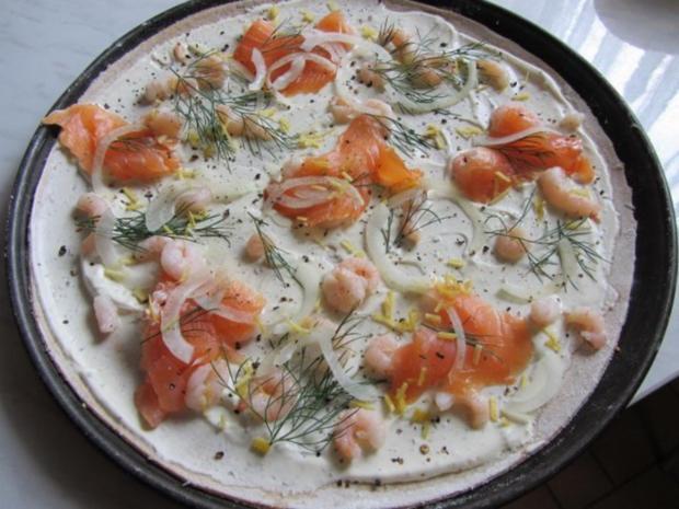 Flammkuchen selbst gemacht.--Im eigenen Pizza -ofen... - Rezept - Bild Nr. 28