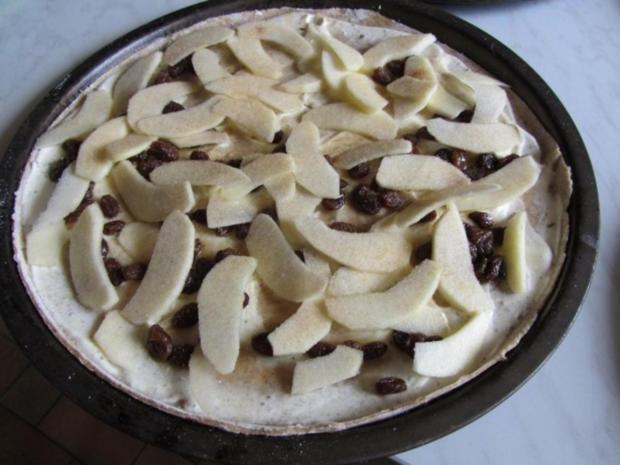 Flammkuchen selbst gemacht.--Im eigenen Pizza -ofen... - Rezept - Bild Nr. 30