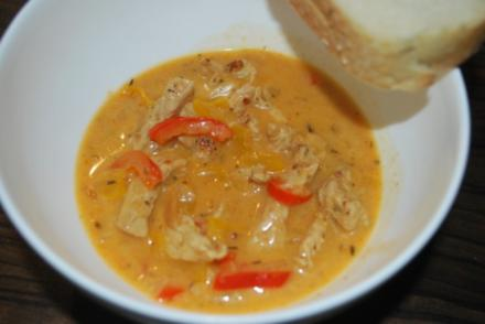 Putengyros-Suppe - Rezept