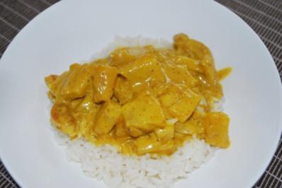 Rezept: Annis fruchtiges Hähnchen-Curry