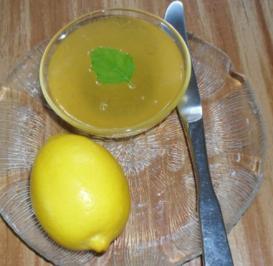 Zitronenmarmelade - Rezept