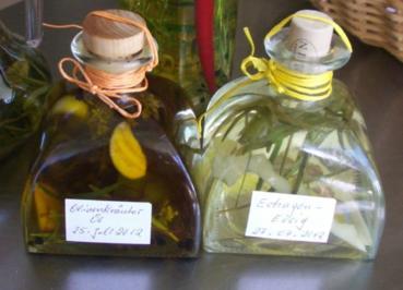 Kräuteröle und Kräuteressig - Rezept