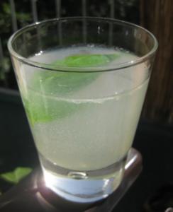 Basilikum-Sirup und -Limonade - Rezept