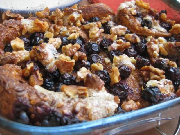 Gourmet Blueberry French Toast - Rezept