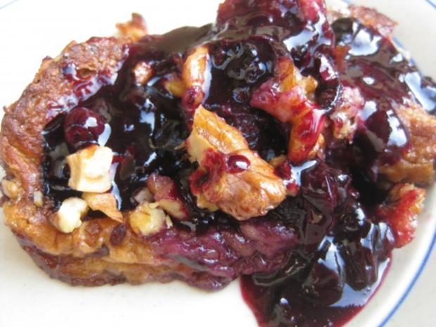 Gourmet Blueberry French Toast - Rezept - Bild Nr. 5