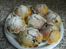 Blaubeer-Vanillequark Muffin - Rezept