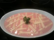 Knoblauch-Sahne-Tomaten-Hähnchenbrüste - Rezept