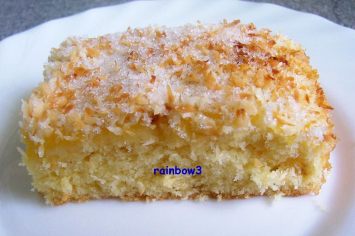 Backen fruchtiger mini kokos kuchen rezept for Minikuche mit geschirrspuler
