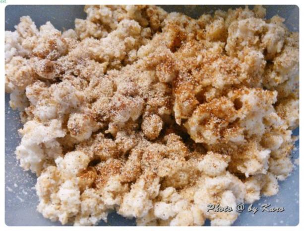 Mangold Kräuterrolle mit gebratenem Salbei und mariniertem Lamm Nacken - Rezept - Bild Nr. 6
