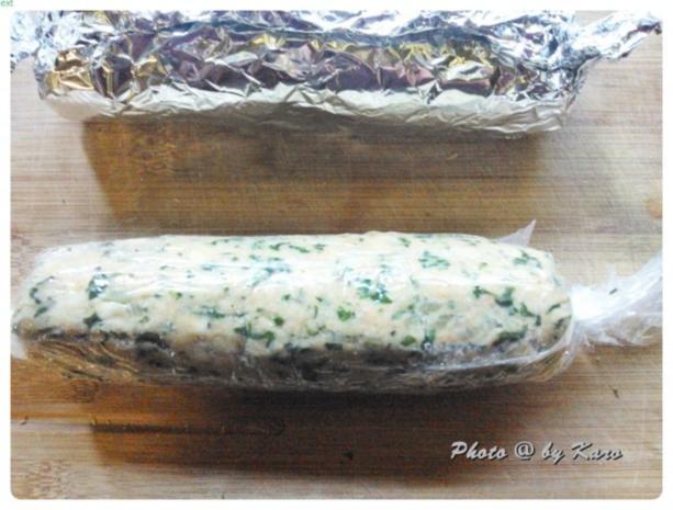 Mangold Kräuterrolle mit gebratenem Salbei und mariniertem Lamm Nacken - Rezept - Bild Nr. 8