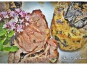 Mangold Kräuterrolle mit gebratenem Salbei und mariniertem Lamm Nacken - Rezept