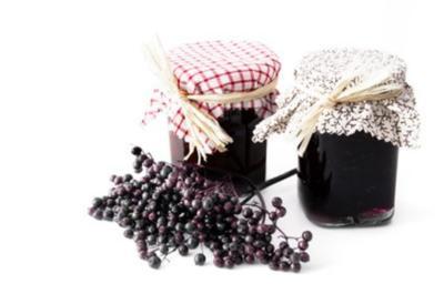 Köstliches Holunderbeergelee - Rezept