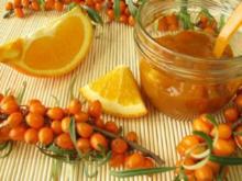 Raffinierte Sanddornmarmelade mit Orangen-Note - Rezept