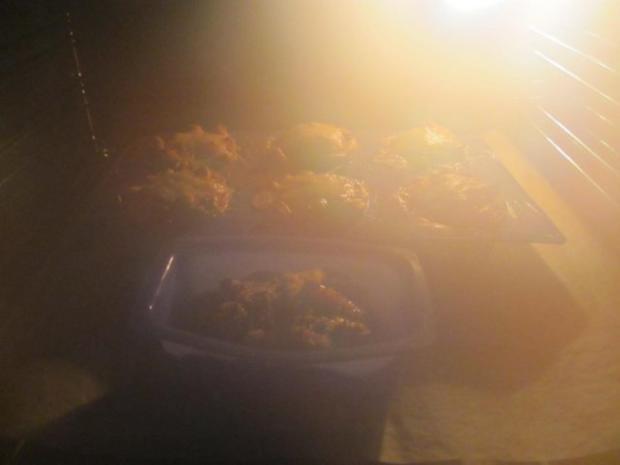 Pikante - Hackfleisch – Muffins mit Creme - Fraiche - Rezept - Bild Nr. 28