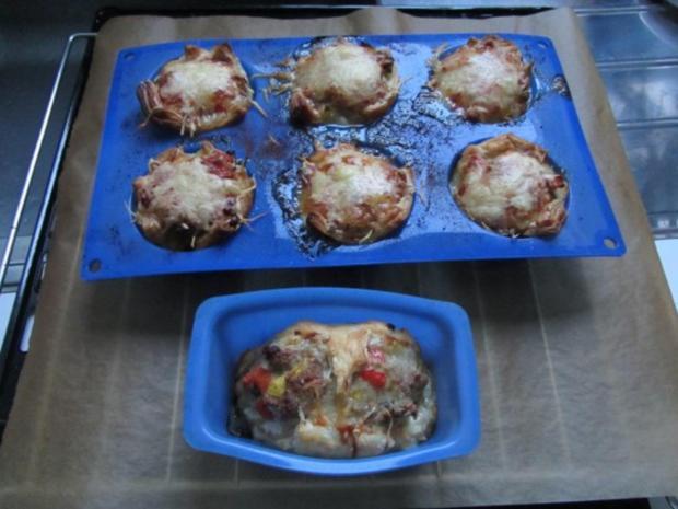 Pikante - Hackfleisch – Muffins mit Creme - Fraiche - Rezept - Bild Nr. 29