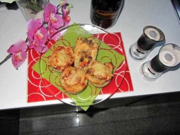 Pikante - Hackfleisch – Muffins mit Creme - Fraiche - Rezept - Bild Nr. 32