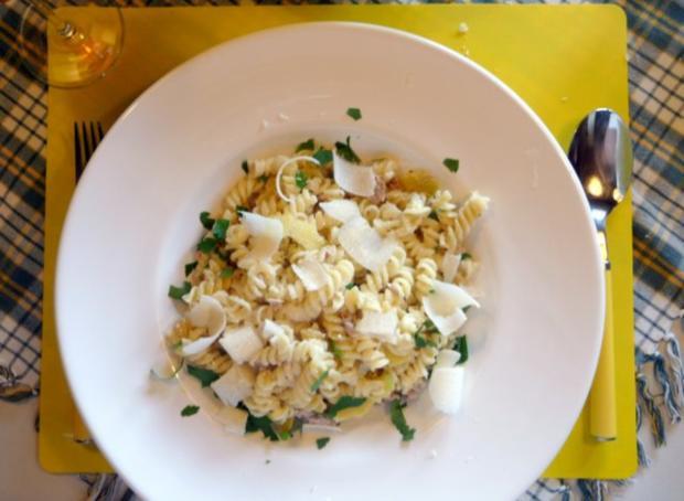 Zitronenpasta mit Thunfisch - Rezept - Bild Nr. 7