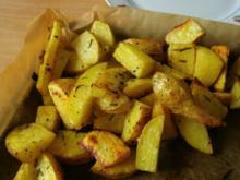 Rosmarinkartoffeln °°°°°°°°von ganz frischen Gartenkartoffeln - Rezept