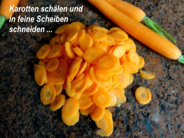 Gemüse:   KAROTTEN/KOHLRABI mit Kräutern - Rezept - Bild Nr. 2