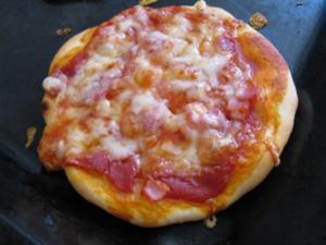 Mini-Pizza - kleine Pizzas - Rezept