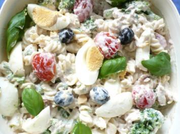 Nudel - Thunfisch Salat - Rezept