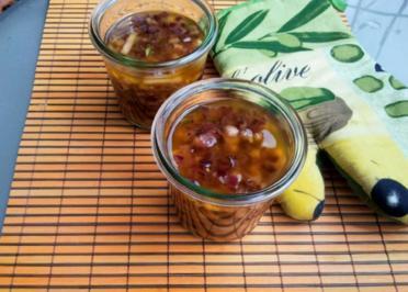 Rezept: Vegetarischer Apfel-Zwiebel Brotaufstrich