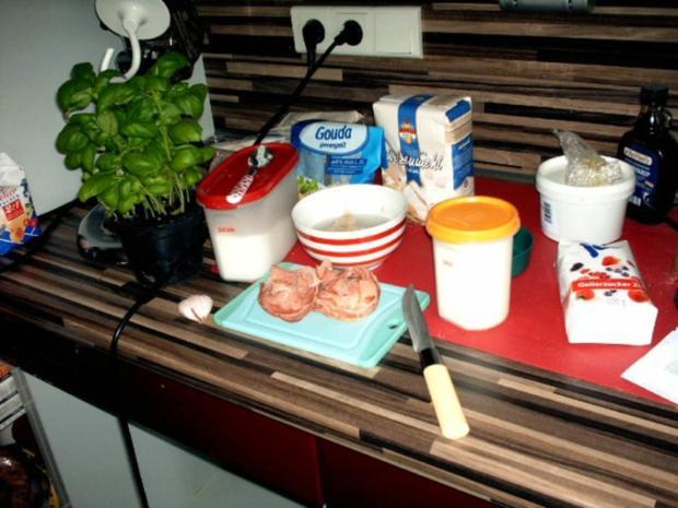 Partybrötchen mit Kräuter und Knoblauch - Rezept - Bild Nr. 3