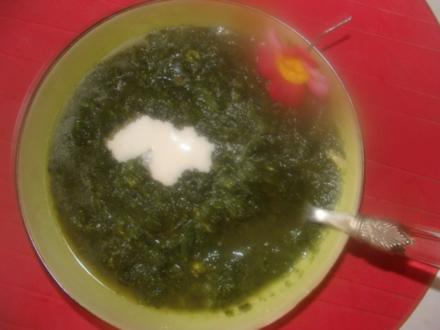 Suppen : Portug. Spinatsuppe - Rezept