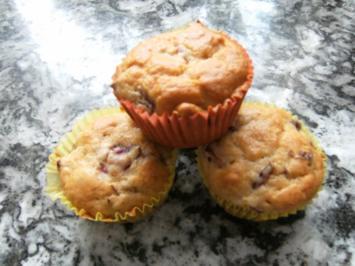 Rum-Zwetschgen-Zimt-Muffins - Rezept