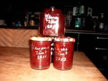 Pflaumen-Marmelade mit Zimt und Slibowitz - Rezept