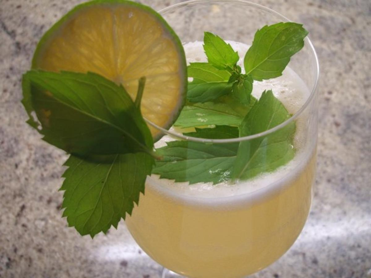 Getränke: Honey-Hugo - Rezept von lunapiena