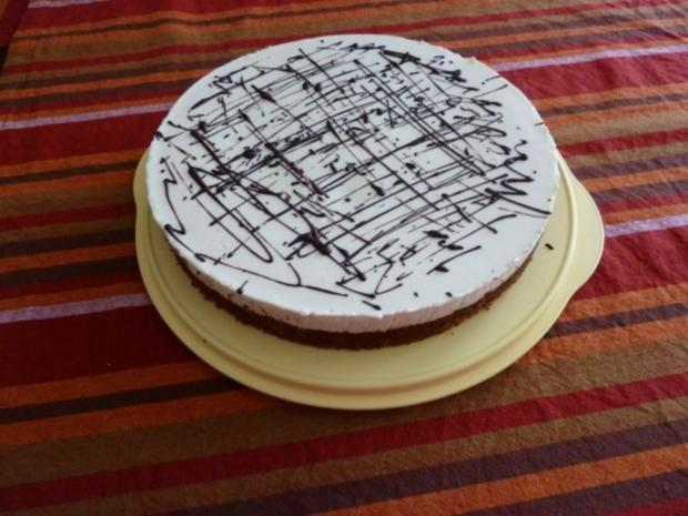 Russisch-Brot-Kuchen mit Milchmädchen-Topping - Rezept