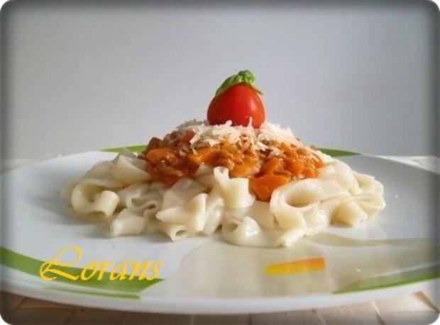 ❈ Selbstgemachte Bandnudeln mit Bolognese-Sause und Parmesankäse ❈ - Rezept - Bild Nr. 19