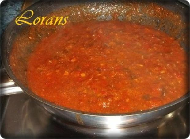 ❈ Selbstgemachte Bandnudeln mit Bolognese-Sause und Parmesankäse ❈ - Rezept - Bild Nr. 13