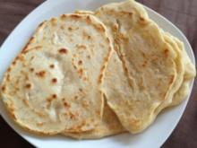 Indisches Naan - Brot - Rezept