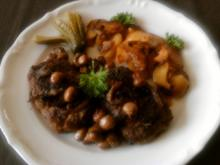 Ostfriesen-Steak mit Hoppdipomm - Rezept