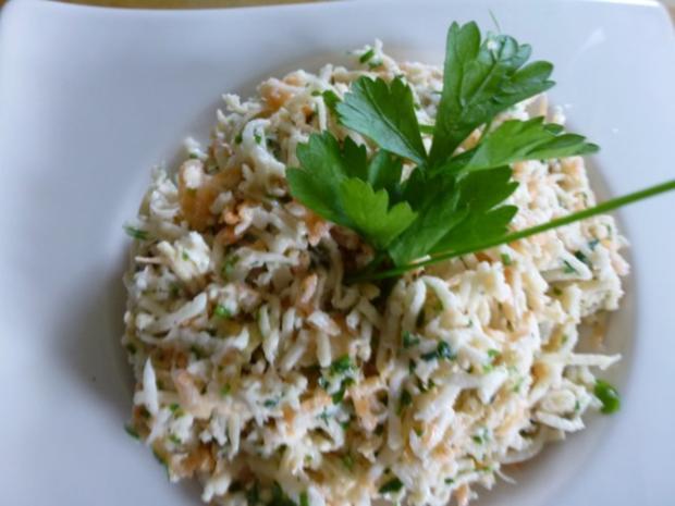 Pastinaken-Karottensalat - Rezept